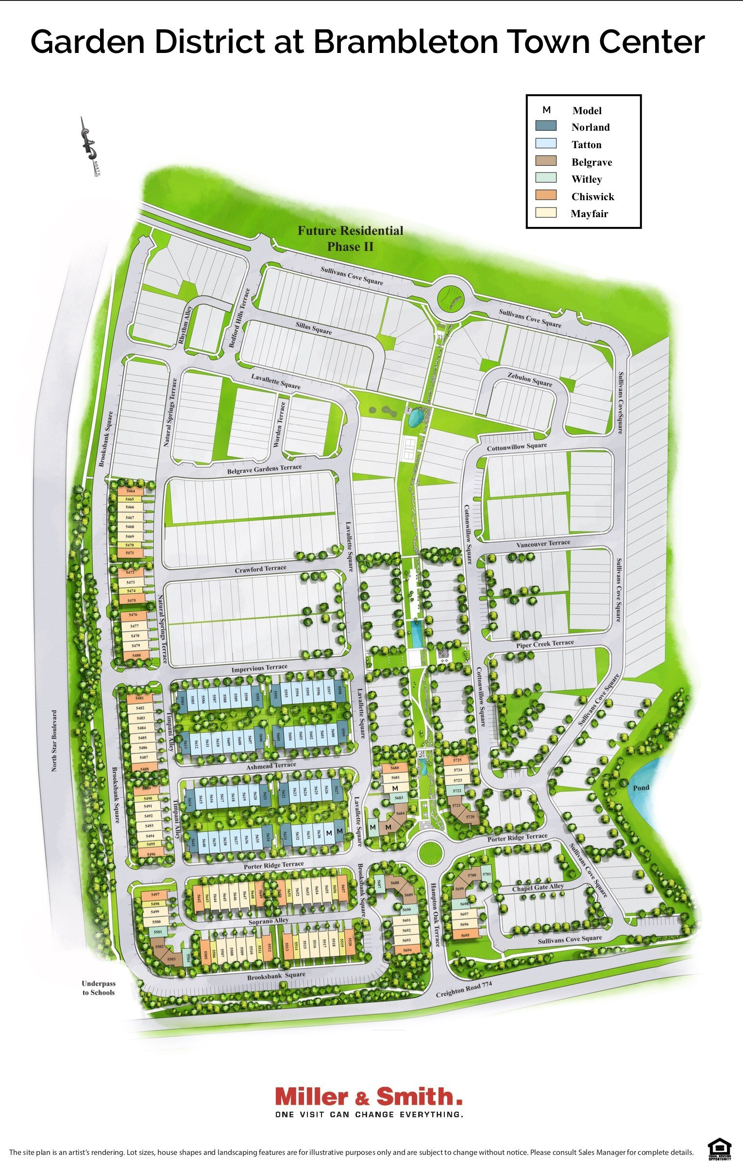 Garden Plan: Townnhomes For Sale