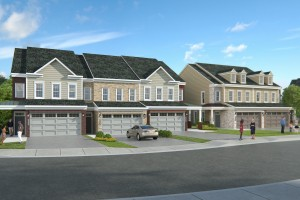 New homes rendering in Eden Brook