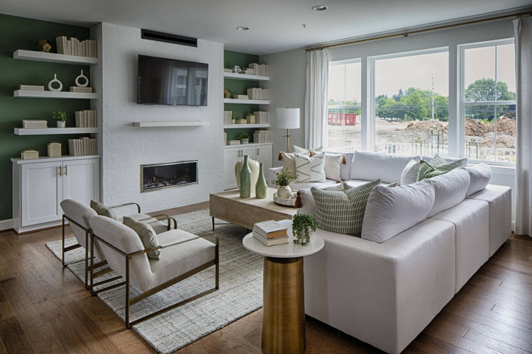 Living area - Sutton Model Home