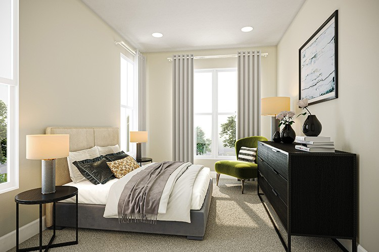 Bedroom 2 - Townes at One Loudoun