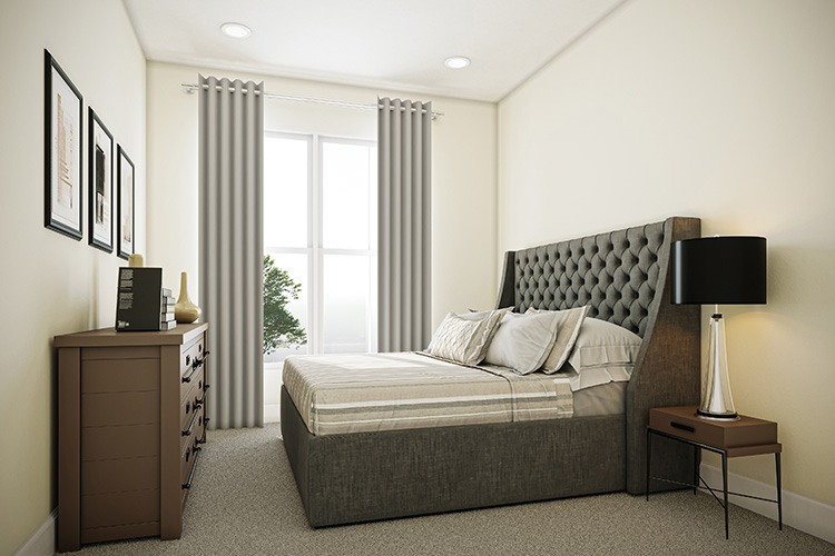 Bedroom 3 - Townes at One Loudoun