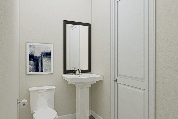 First Floor Powder Room - Townes at One Loudoun