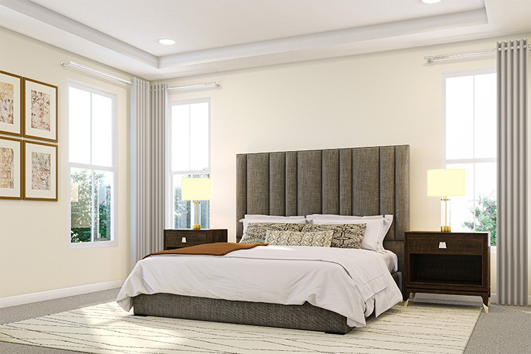 Owner's Bedroom - Gabrielle - Townes at One Loudoun