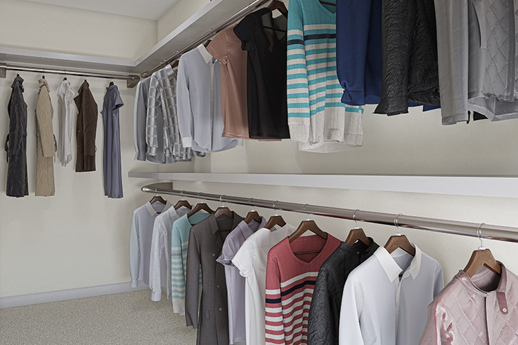 Walk in Closet - Gabrielle - Townes at One Loudoun