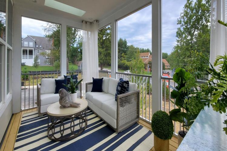 Eden Brook Model patio